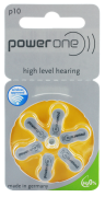 Hörgerätebatterien - power one Mercury-Free p10 (6 Stück)