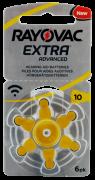 Hörgerätebatterien Sparpaket - Rayovac Extra Advanced Typ-10 (60 Stück)