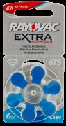 Hörgerätebatterien Sparpaket - Rayovac Extra Advanced Typ-675 (30 Stück)