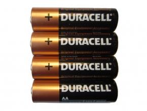 DURACELL Alkaline Batterien - Typ AA - 1,5V