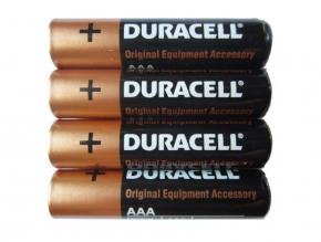 DURACELL Alkaline Batterien - Typ AAA - 1,5V