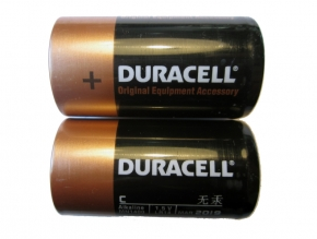 DURACELL Alkaline Batterien - Typ C - 1,5V