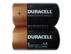 DURACELL Alkaline Batterien - Typ D - 1,5V