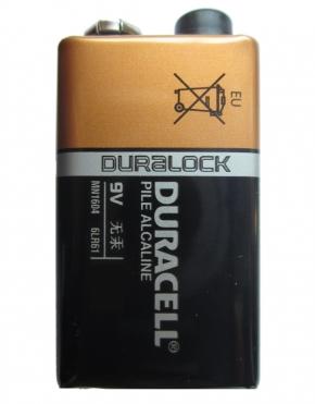 DURACELL Alkaline Batterien - Typ E-Block - 9V