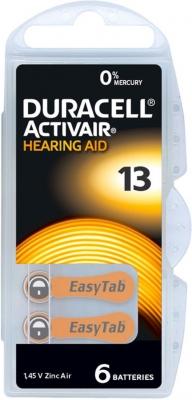 Hörgerätebatterien Sparpaket - Duracell ActivAir Typ 13 MF (30 Stück)
