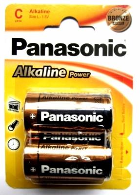 Panasonic Alkaline Power - Typ C - 1,5V Batterie (2 Stck.)