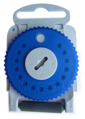 Cerumenfilter HF4, linke Seite (blau)