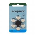 Hörgerätebatterien Sparpaket - Ecopack MF Typ 675 (30 Stück)