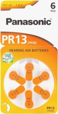 Hörgerätebatterien Sparpaket - Panasonic PR 13 Mercury free (60 Stück)